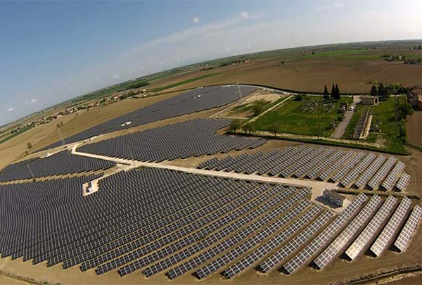 Parco fotovoltaico Salara