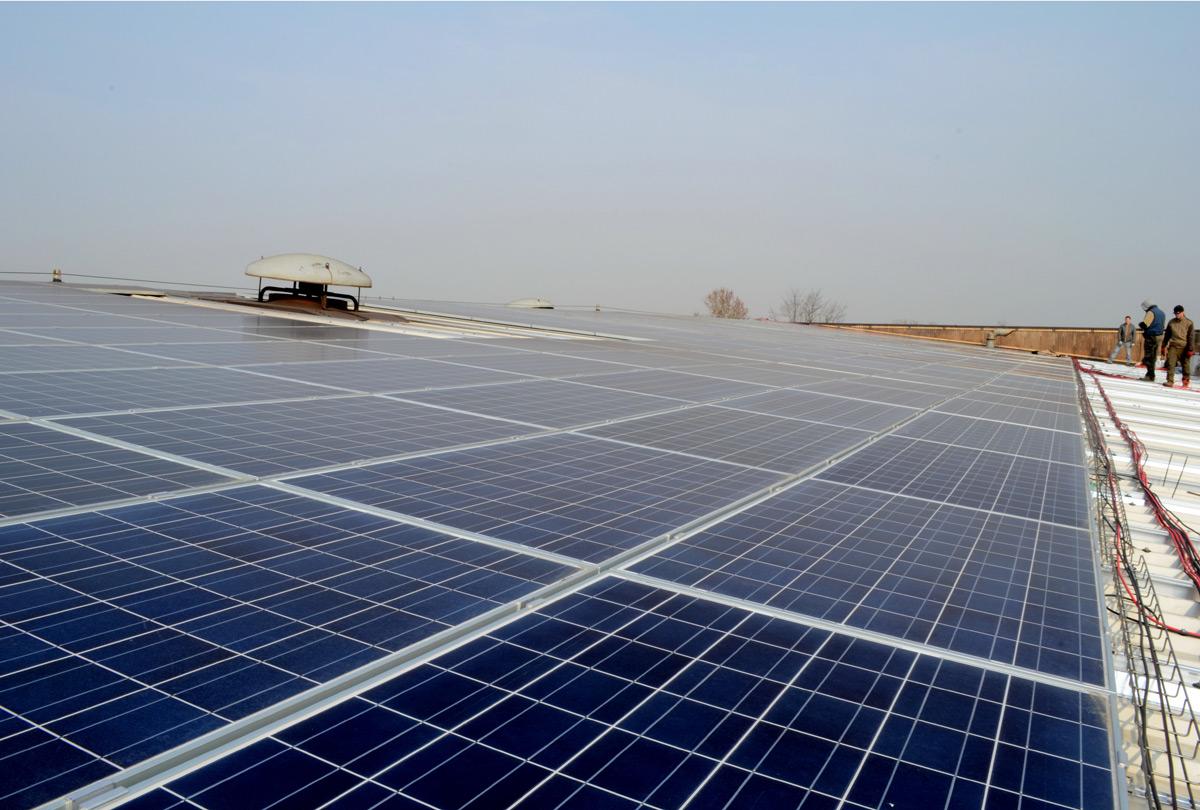 Impianto fotovoltaico su capannoni avicoli